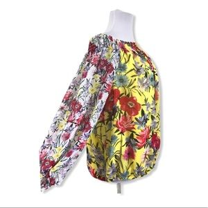 Charter Club NWT 3X Off Shoulder Blouse Floral